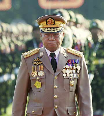 Senior General Than Shwe