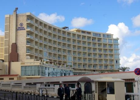 Helnan Palestine Hotel on Alexandria's Corniche