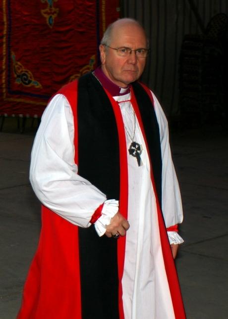 The Primus of the Scottish Episcopal Church, Bishop Idris Jones of Glasgow and Galloway