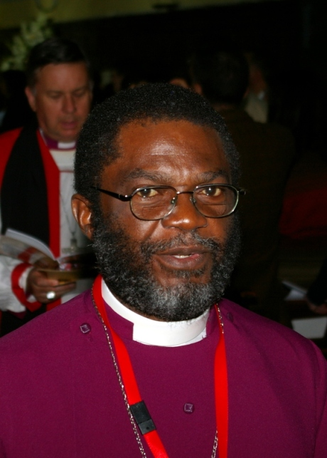The Primate of West Africa, Archbishop Justice Akrofi of Accra at St Mark's Cathedral on Feb 1, 2009
