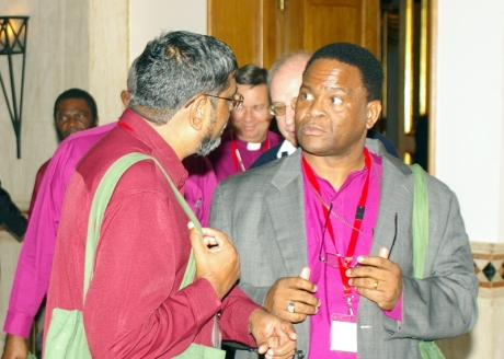 The Primates of the Indian Ocean and Tanzania, Archbishops Ian Ernest and Valentino Mokiwa