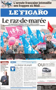 Figaro 14 Jan 2013