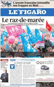 Figaro 14 Jan 2013